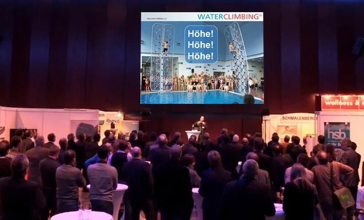 Bäderkongress Graz Vortrag WATERCLIMBING